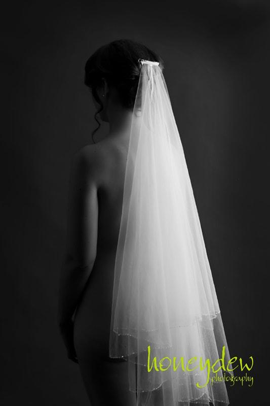 veil only bride