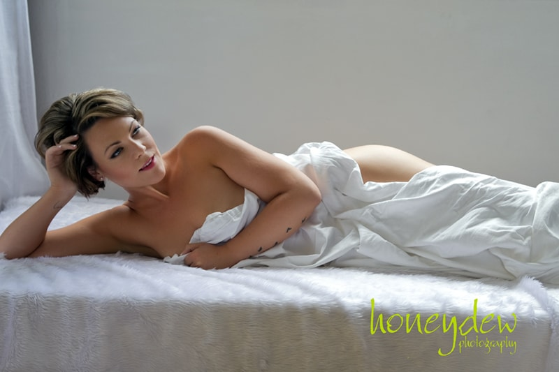 under the sheets photo shoot
