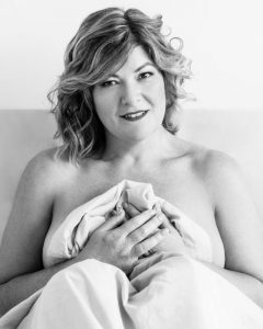 birthday celebrations with a boudoir shoot