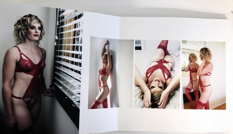 Boudoir album page